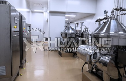 Application of Huading separator in probiotic industry